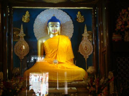 Mahabodhi Statue And Its Legend