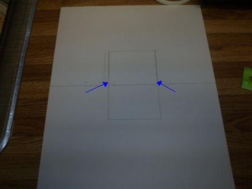 """Cut along the blue lines and then fold the """"pop-up""""."""