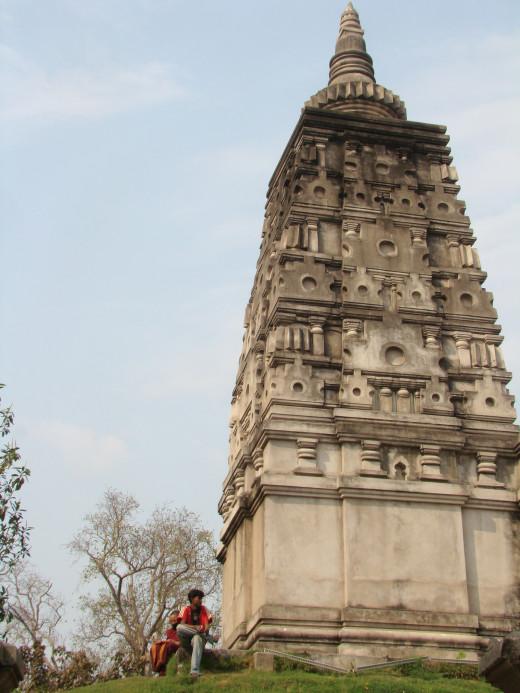 Animisilocana Cetiya- Stupa Of The Gazing Buddha Built By Ashoka, Bodh Gaya