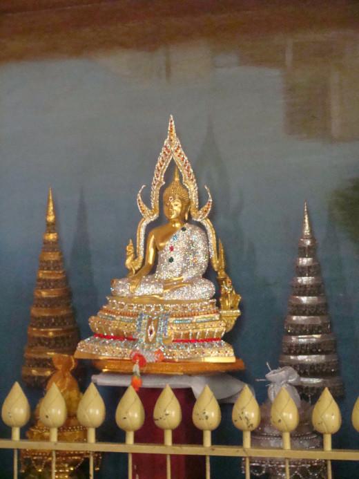 Beautiful Buddha In The Thai Temple, Bodh Gaya