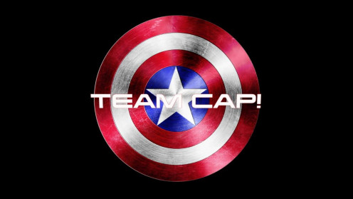 Team Cap is the official name for Dave's support team. In case you haven't figured it out yet, Captain America is his favorite super hero.