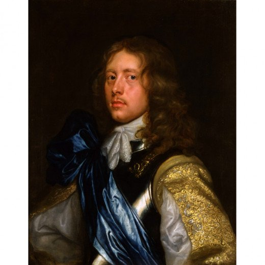 Our ancestor, if a Royalist, would have dressed and worn his hair in the manner of the Cavalier in this portrait.