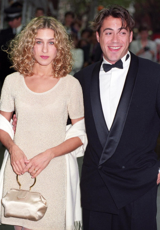 Robert Downey Jr. with ex love Sarah Jessica Parker