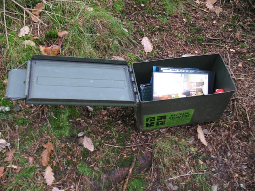 Ammo Box or Field Box Cache Container
