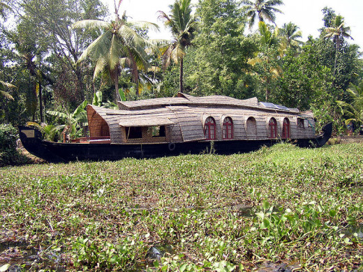 House Boat on Backwaters