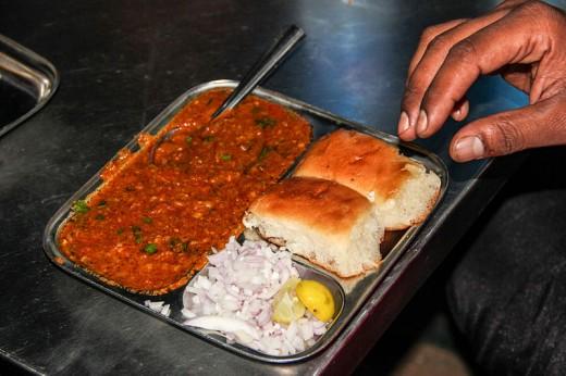 Pav Bhaji Snack & Meal