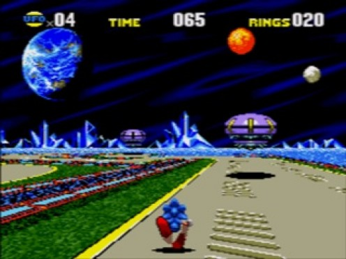 Sonic CD was better the the Sonic games on the Genesis when it comes to graphics and sound.