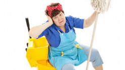 There are also female janitors