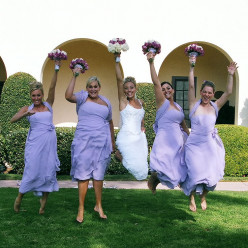 Bridesmaids:  How many is too many?
