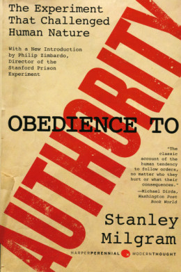 milgram s 1974 obedience to authority Obedience to authority milgram (1974) maintained that the key to obedience had little to do with the authority figure's manner or style rather, he argued that .