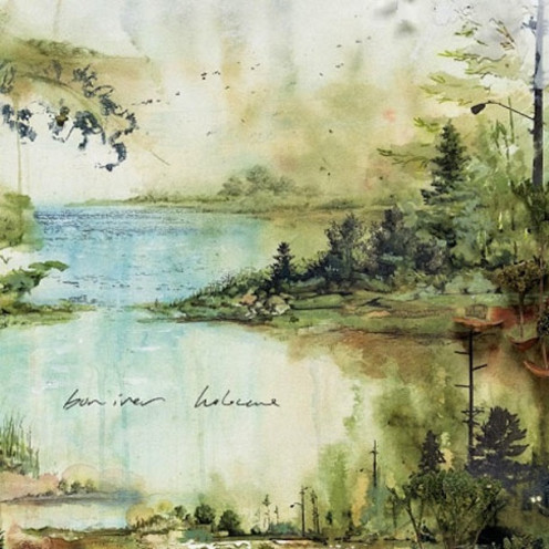 Bon Iver's cover is as hauntingly beautiful as the album itself!