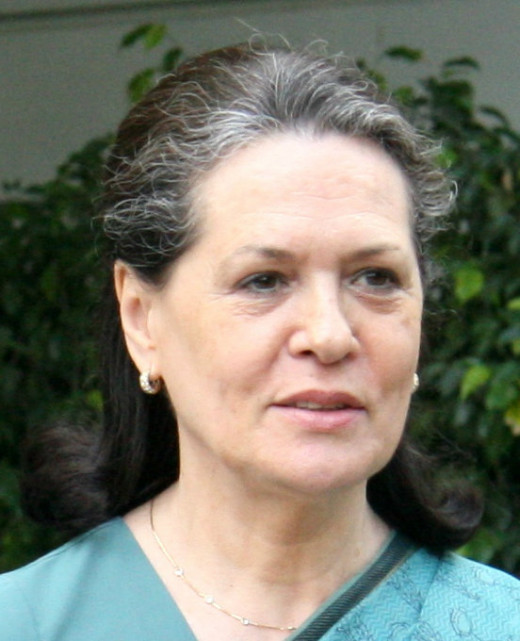 Sonia Gandhi Takes Charge