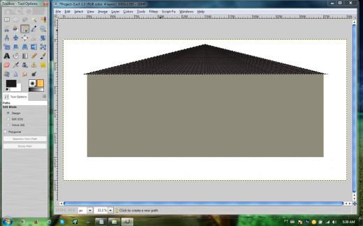 Roof shingles - I think