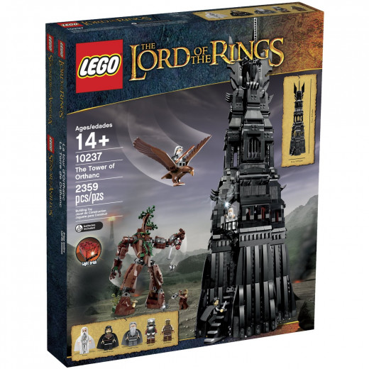 The LEGO Lord of the Rings Tower of Orthanc Building Set, 10237.