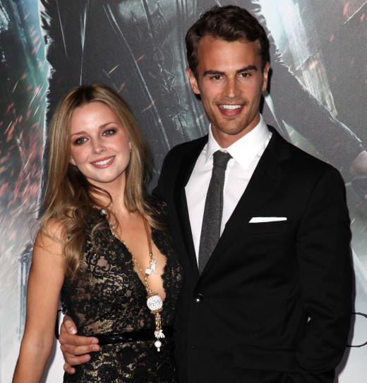 Ruth Kearney and Theo James