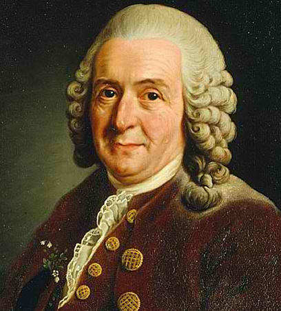 Carl Von Linnaeus (18th Century) a Swedish naturalist who established a system for classifying plants and animals and founded taxonomy.