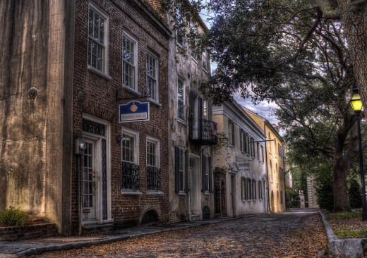 Street view in Charleston