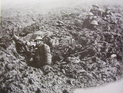 Canadian troops at Passchendaele