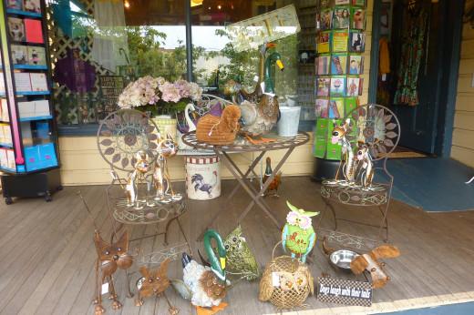 Leura has many cute shops to explore