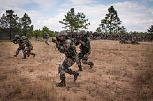 Indian Soldiers Fighting Incursions From Across the Border