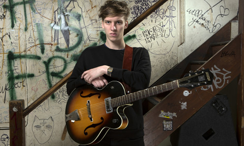 Despite being a Newcomer in the Alternative Music Industry he still shows great signs of success, George Ezra