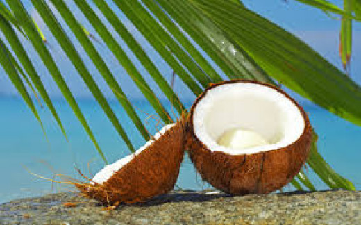 Coconuts are healthy natural foods!