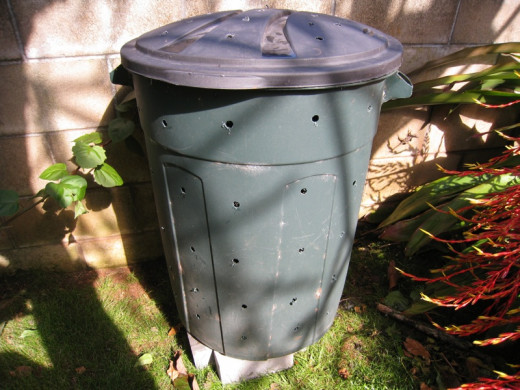 The old trash can compost bin method.