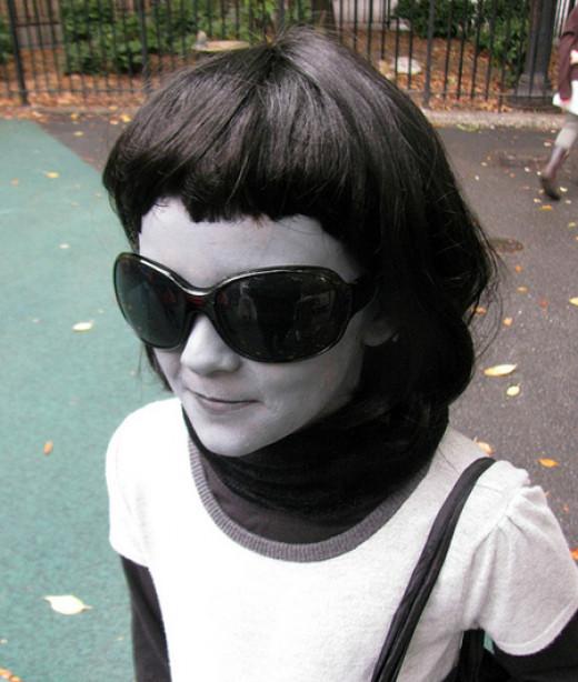 Black white halloween costume ideas