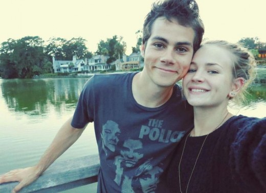Dylan O'Brien and Brit Robertson