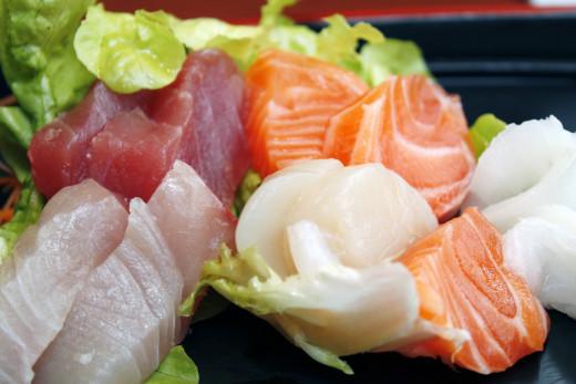 Fish food stimulates finer feelings