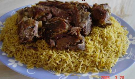 Mandi is one of the most favourite dishes of Saudis
