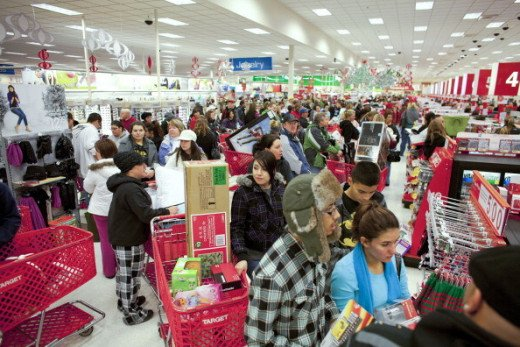 Black Friday 2013 at your neighborhood Target.