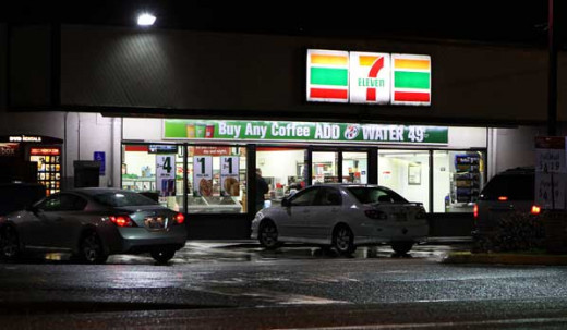 The store that never closes, 7-11 are abundant in most metropolitan cities and features a variety of convenience items.