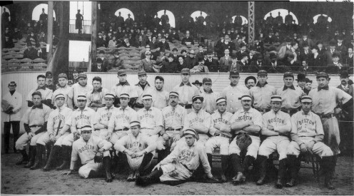 1903 World Series winners, the Boston Americans.