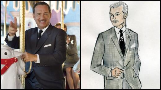 "Tom Hanks as Walt Disney in ""Saving Mr Banks"""