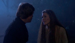 Luke and Leia on Endor