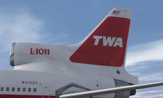 TWA L10-11 Tail