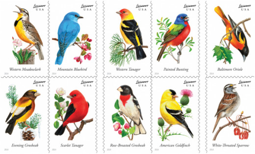 United States Postal Service Songbird Series
