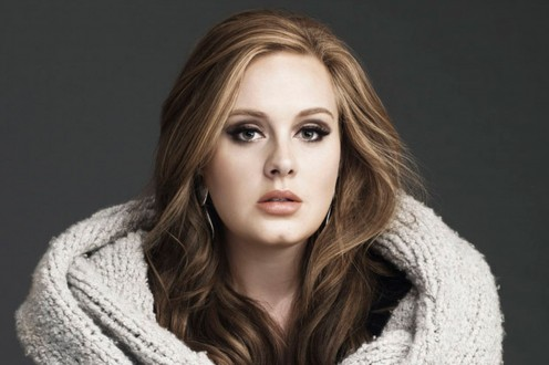 Beautiful and gorgeous as her music, Adele
