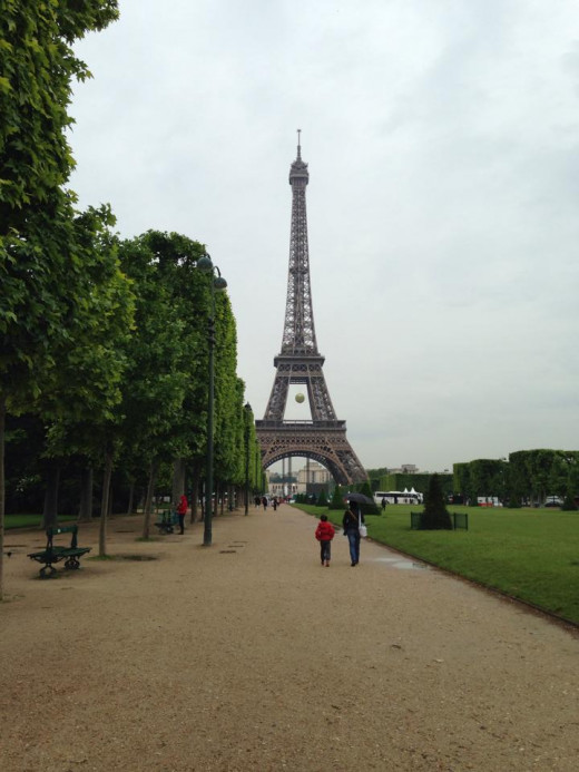Eiffel Tower in May