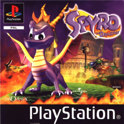 Spyro the Dragon (1998)