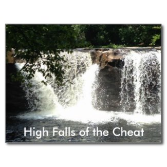 The water above the falls looked so still, before the free fall.