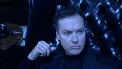 Michael Keaton as Bruce Wayne