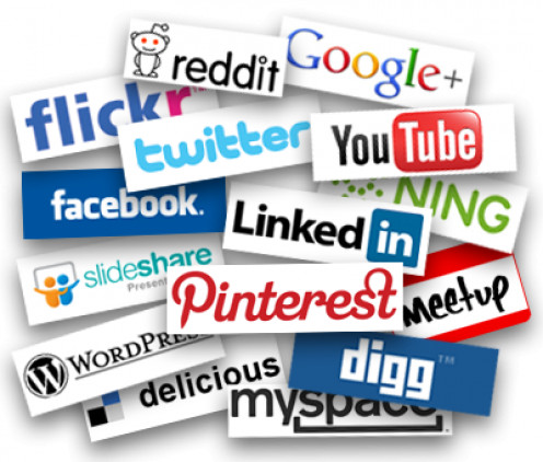 Social media is vital when promoting web pages