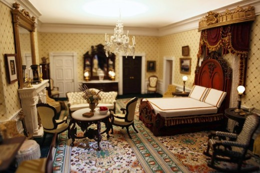 The White House. One of many room inside of the president's home.