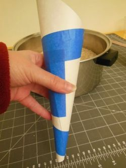 paper funnel, photo by Relache