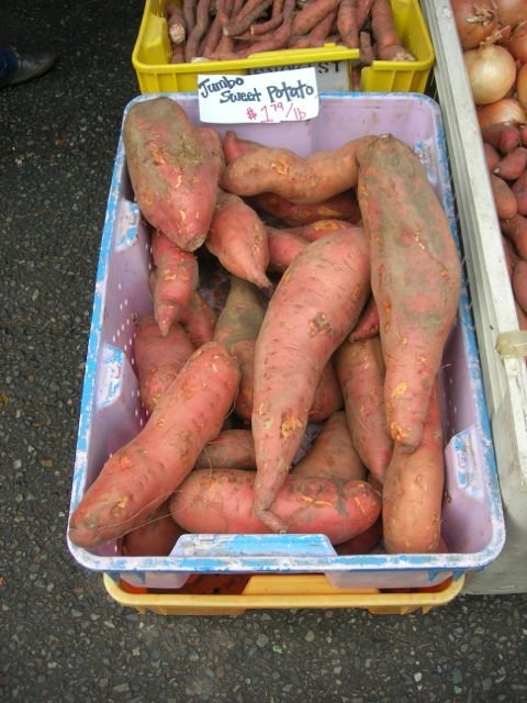 How 'bout them sweet potatoes?!