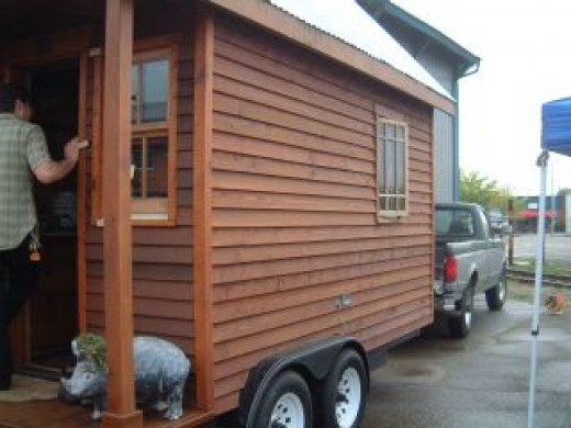 Dee Williams' tiny house