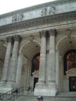 NY Public Library, photo by Relache