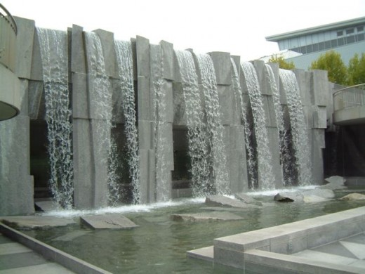 The MLK memorial at Yerba Buena Gardens